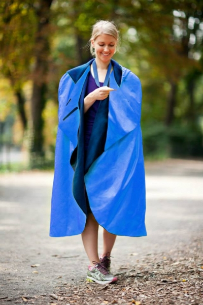 Photo Flash: First Look at 2014 TCS NYC Marathon Ponchos!