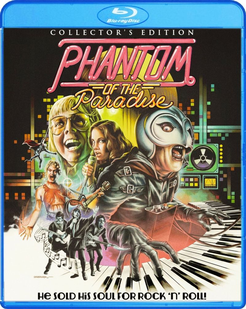 PHANTOM OF THE PARADISE Collector's Edition Blu-Ray Out 8/5