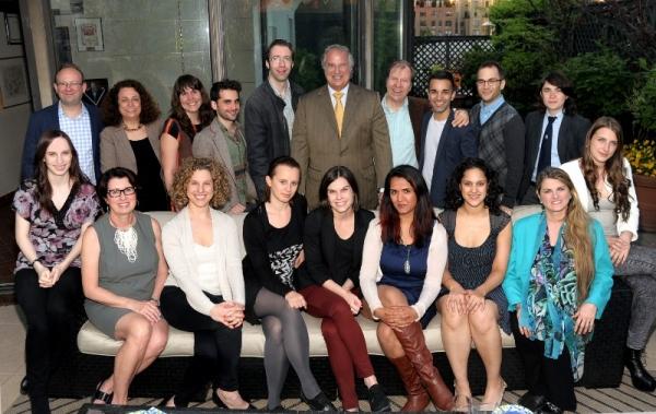 (back row) Andrew Leynse, Kalina Wagenstein, Caitlin Sullivan, Michael Liebenluft, Mi Photo