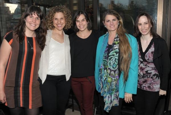 Caitlin Sullivan, Ellie Heyman, Hannah Ryan, Bonnie Comley, Alyssa Renzi