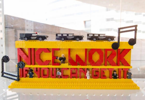 Photo Flash: Sneak Peek at Segerstrom Center's LEGO Art Exhibit
