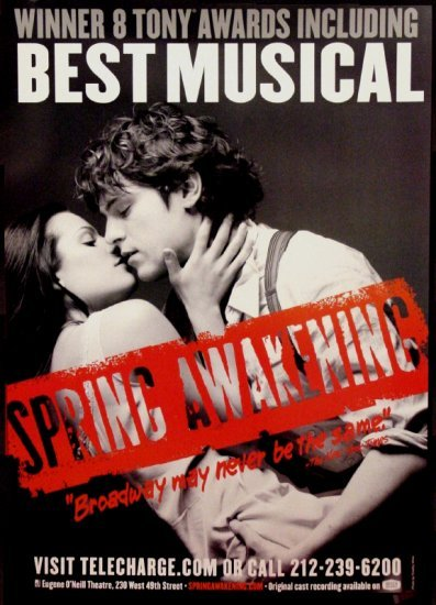 30 Days Of The 2014 Tony Awards: Day #14 - SPRING AWAKENING