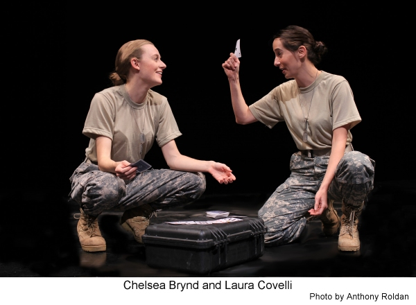 BWW Reviews: Not Man Apart Addresses the Horrors of Warfare and its Aftermath in AJAX IN IRAQ
