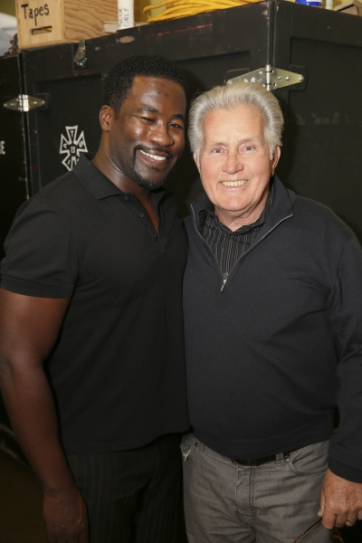 Daniel Beaty and Martin Sheen