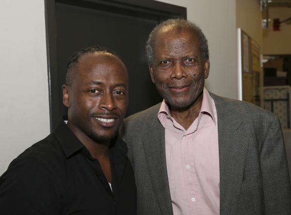 Kenny J. Seymour and Sidney Poitier