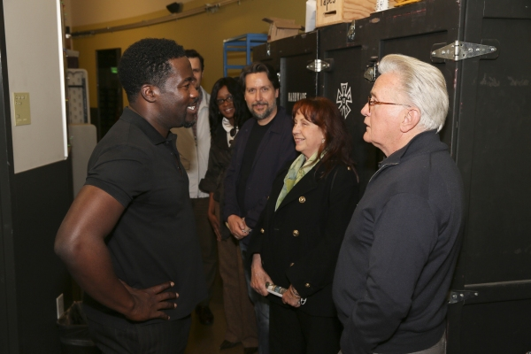 Daniel Beaty and Martin Sheen Photo