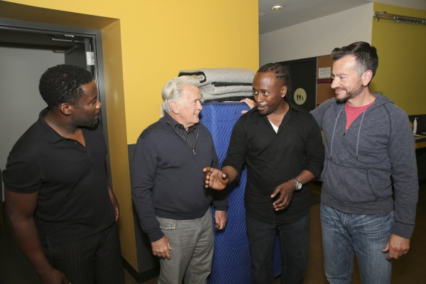 Photo Flash: Sidney Poitier, Martin Sheen and Khandi Alexander Backstage at THE TALLEST TREE IN THE FOREST