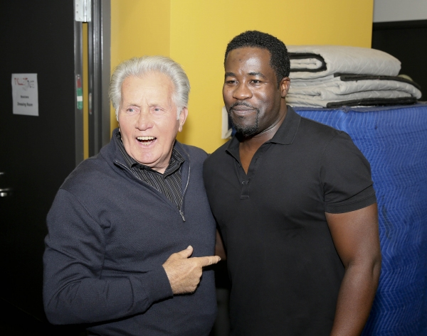 Martin Sheen congratulates Daniel Beaty