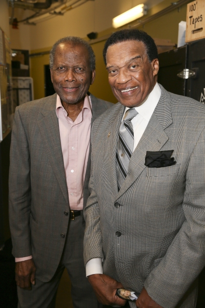 Sidney Poitier and Bernie Casey