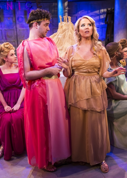 BWW Reviews: Stages Repertory Theatre's XANADU is Candy-Coated Glee
