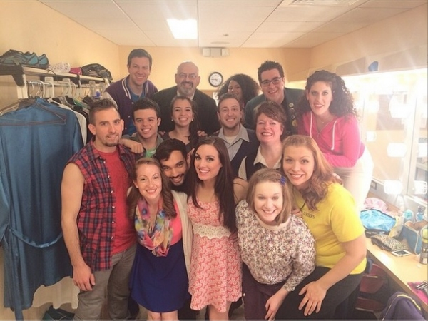 Photo Flash: Saturday Intermission Pics, 5/24 - Part 2 - HEATHERS is Watching You, Salute to Memorial Day, and More!