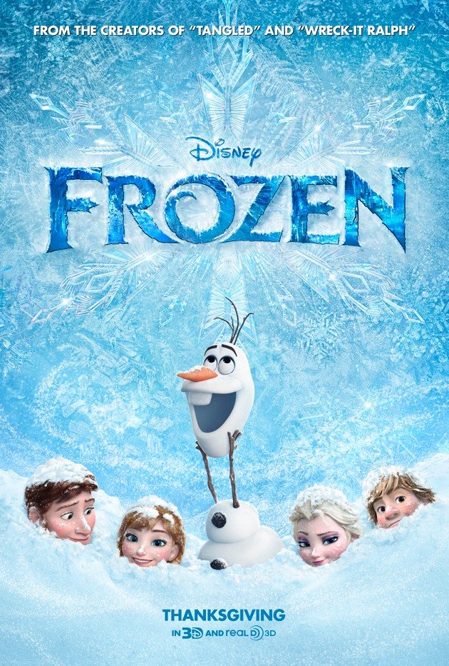 FROZEN Becomes #5 Highest Grossing Film Of All Time