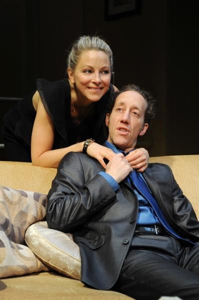 Anastasia Griffith and Joey Slotnick