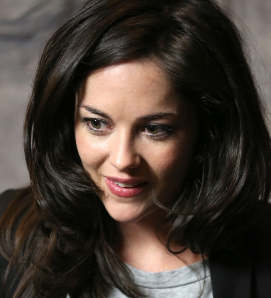Sarah Greene photographed at the Paramount Hotel on April 30, 2014 in New York City.