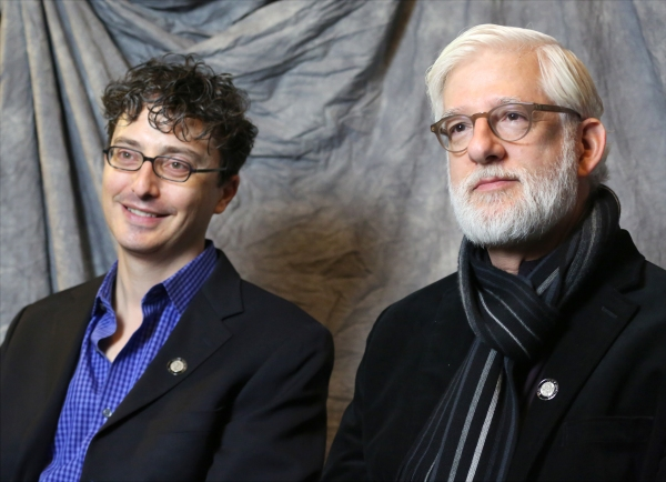 In the Spotlight Series: In the Tonys Photo Booth with Nominees  Beowulf Boritt and Dan Moses Schreier