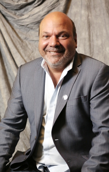 Casey Nicholaw photographed at the Paramount Hotel on April 30, 2014 in New York City.