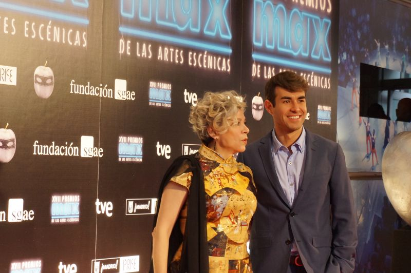 Una noche de rock en los Premios Max