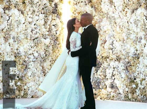 Photo Flash: Photos & Details of Kim Kardashian & Kanye West's $2.8M Wedding!