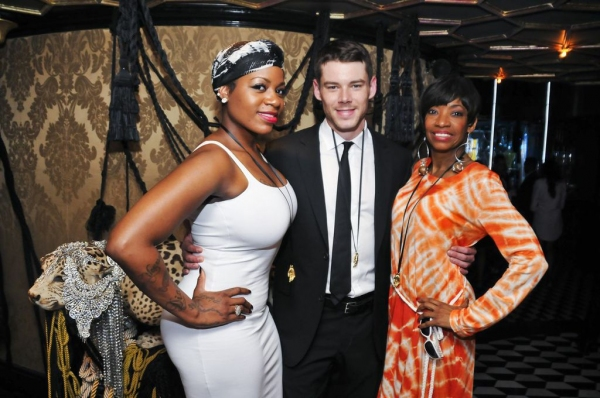 Fantasia Barrino, Brian J. Smith, and Adriane Lenox. Photo