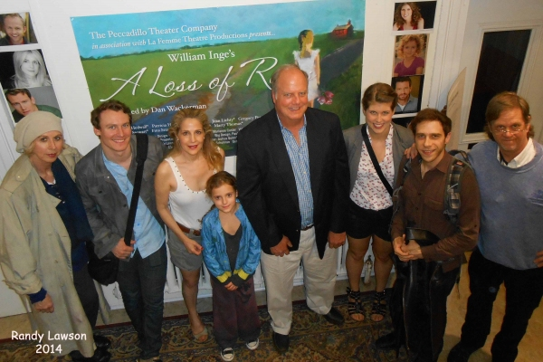 Photo Flash: William Inge's Grand Nephew Visits Peccadillo's A LOSS OF ROSES