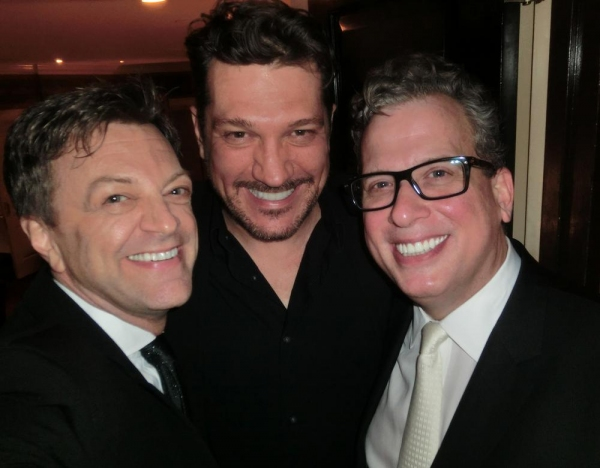 Jim Caruso, Paulo Szot and Billy Stritch