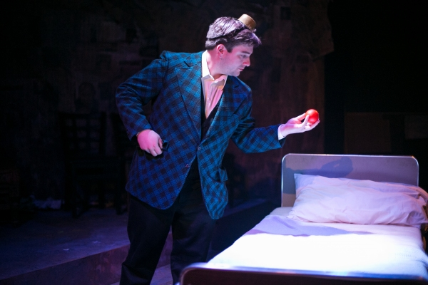 Sanatorium Story by Seth Bockley, directed by Lydia Milman Schmidt. Pictured: Thomas Sparks.