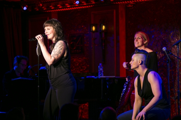Photo Coverage: KINKY BOOTS and Mark Fisher Fitness Raises Money for BC/EFA with THESE BOOTS WERE MADE FOR ROCKIN' at 54 Below!