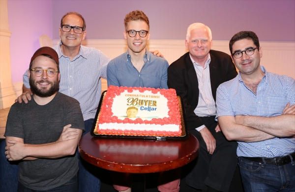 Director Stephen Brackett, Dan Shaheen, Barrett Foa, Ted Snowdon and Jonathan Tolins