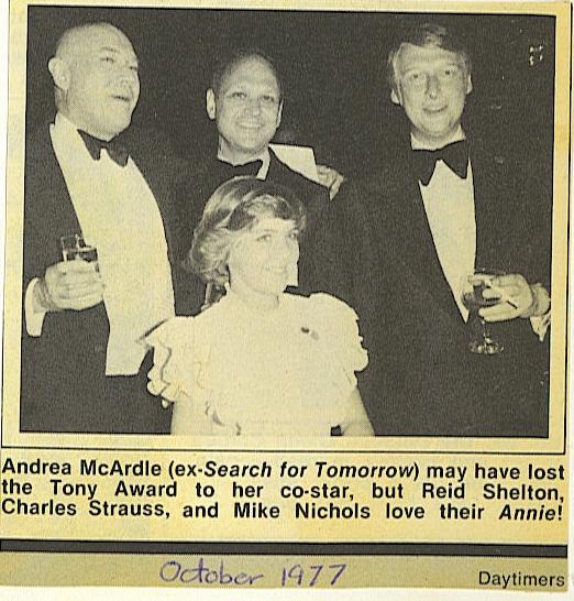 BWW Blog: Andrea McArdle - ANNIE Vault Pics!