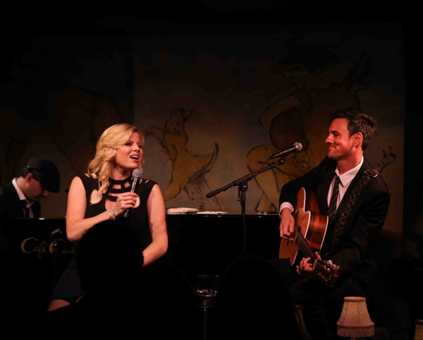 Megan Hilty & Brian Gallagher