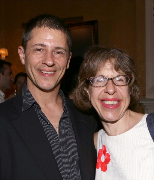 Steve Smith and Jackie Hoffman Photo