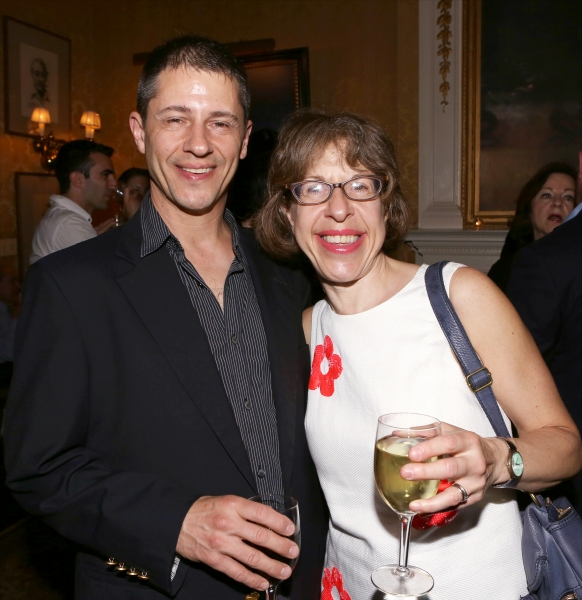 Steve Smith and Jackie Hoffman