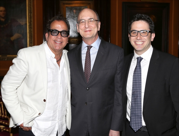 Richard Jay-Alexander, Peter Gelb and Robert Diamond