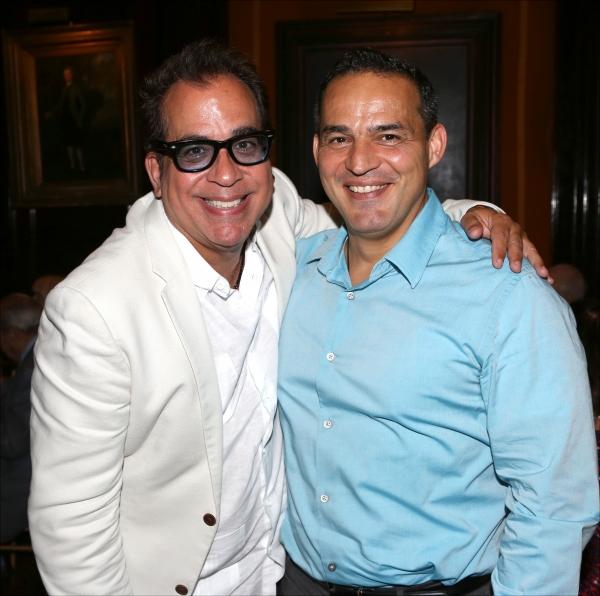 Richard Jay-Alexander and Ruben Flores  Photo