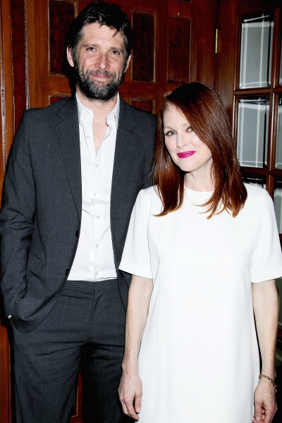 Bart Freundlich and Julianne Moore Photo