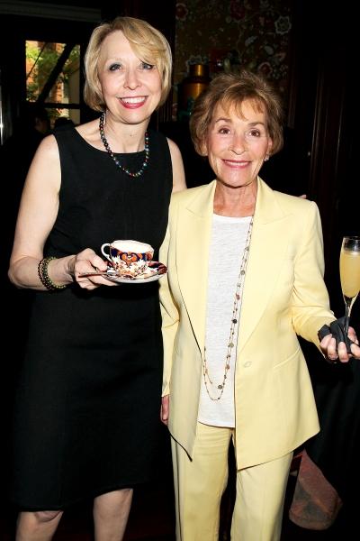 Julie Halston and  Judge Judy Scheindlin