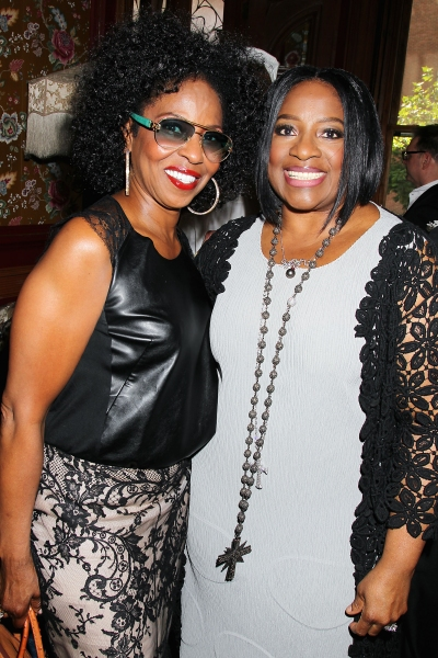 "-New York, NY - 5/26/14 - Julianne Moore Host a Afternoon Tea honoring LaTanya Richardson Jackson for her 2014 Tony Award Nominee for Best Actress in a Play For her performance in �'A Raisin in the Sun�""  -PICTURED: Pauletta Washington and LaTanya Richard"