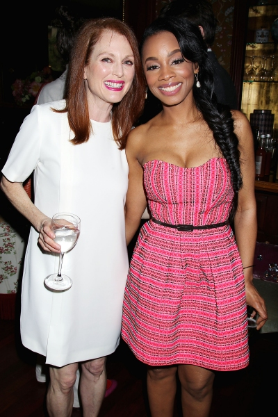 -New York, NY - 5/27/14 - Julianne Moore Host a Afternoon Tea honoring LaTanya Richardson Jackson for her 2014 Tony Award Nominee for Best Actress in a Play For her performance in âï�¿½ï�¿½A Raisin in the Sunâï�¿½ï�¿½  -PICTURED: Julianne Mo