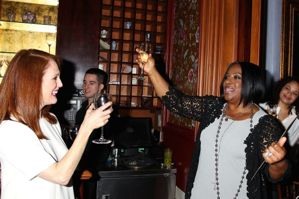 -New York, NY - 5/27/14 - Julianne Moore Host a Afternoon Tea honoring LaTanya Richardson Jackson for her 2014 Tony Award Nominee for Best Actress in a Play For her performance in â�¿��¿�A Raisin in the Sunâ�¿��¿�  -PICTURED: Julianne Moore and LaTanya