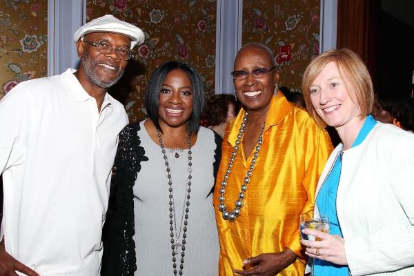Samuel L.Jackson, LaTanya Richardson Jackson,Judith Jamison,Heath