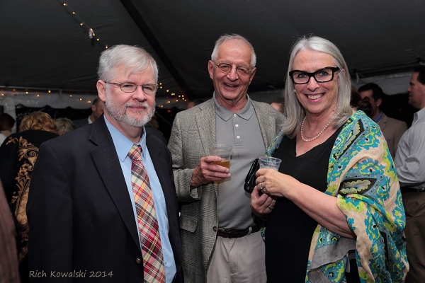 Christopher Durang, Richard and Cathryn Zega