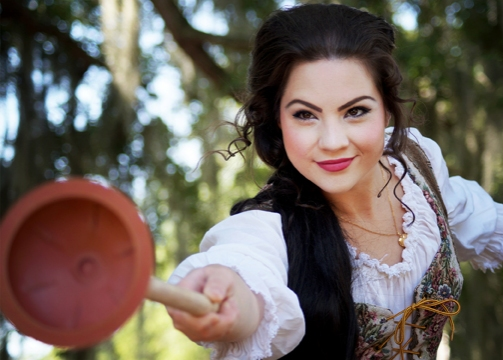 Photo Flash: Meet the Star of Orlando Shakespeare Theater's RAPUNZEL