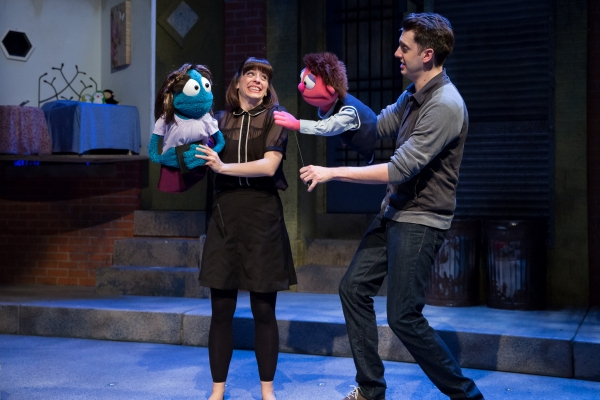 Leah Morrow as Kate Monster and Jackson Evans as Princeton Photo