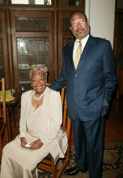 Dr. Maya Angelou and Richard Parsons attending The Abyssinian Development Corporation Photo