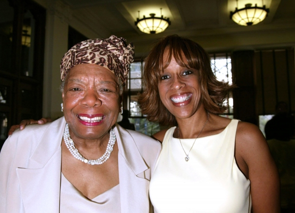 Gayle King and Dr. Maya Angelou attending The Abyssinian Development Corporation''s (ADC) Tenth Annual Renaissance Day of Commitment Leadership Breakfast at City College in Harlem, New York City. June 15, 2004. © Walter McBride /