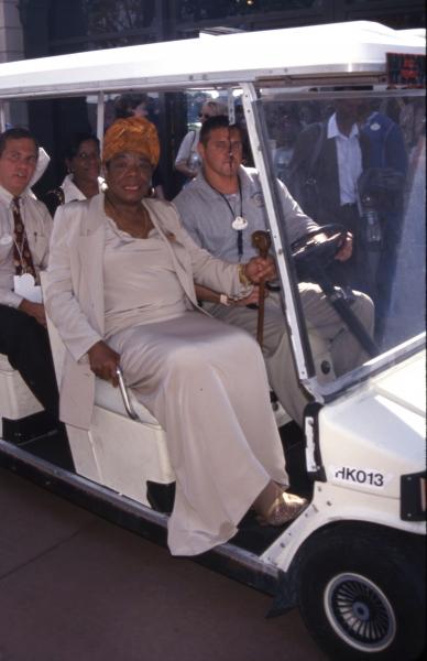 Photo Flashback: Remembering Maya Angelou