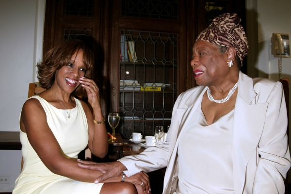 Gayle King and Maya Angelou Attending The Abyssinian Development Corporation''s (ADC) Tenth Annual Renaissance Day of Commitment Leadership Breakfast at City College in Harlem,  New York City. June 15, 2004