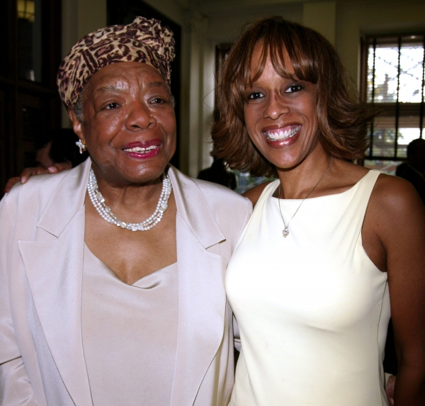 Gayle King & Maya Angelou Attending The Abyssinian Development Corporation''s (ADC) Tenth Annual Renaissance Day of Commitment Leadership Breakfast at City College in Harlem,  New York City. June 15, 2004