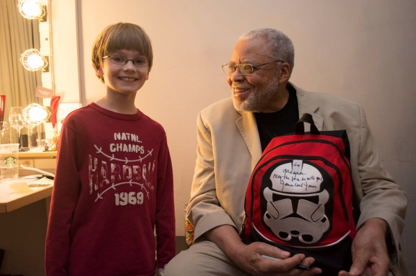 Photo Flash: James Earl Jones & Jane Seymour Visit Broadway's MOTHERS AND SONS