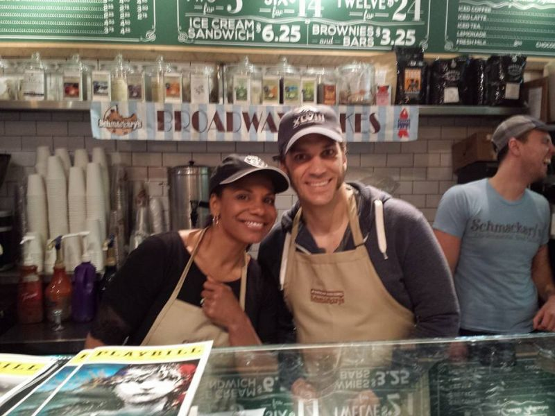 Photo: Audra McDonald & Will Swenson Serve Up Treats for BROADWAY BAKES
